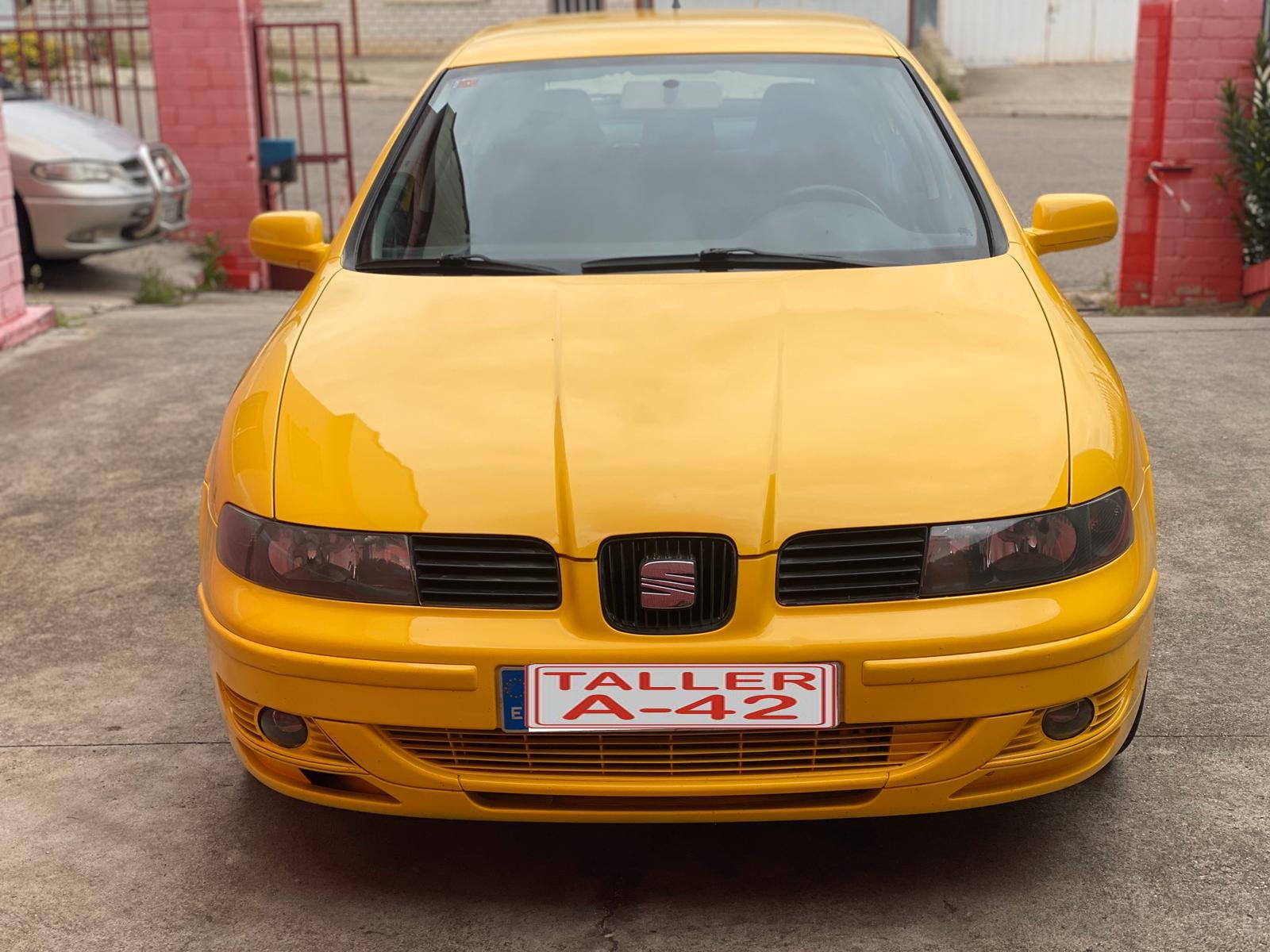 Venta Seat leon fr 1.8 turbo en toledo frontal