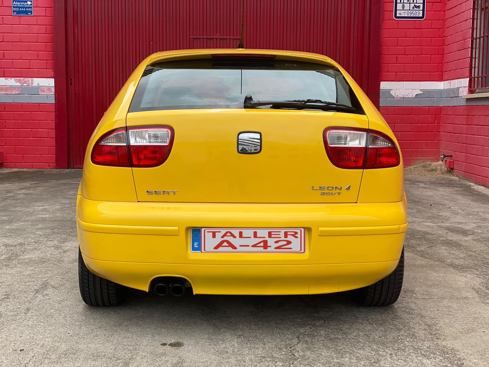Venta Seat leon fr 1.8 turbo en toledo trasera 1